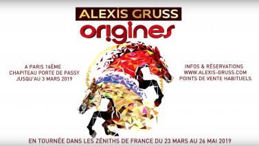 40 chevaux au Zénith de Caen pour Origines, la dernière création du Cirque Alexis Gruss
