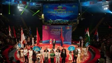 International Circus festival in Vietnam (Hanoi)