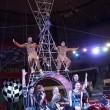 В Самаре олимпийцы Рио выступили в роли артистов цирка