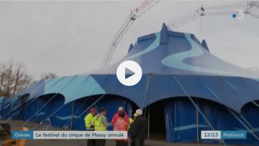 Grève des transports : annulation du Festival du cirque de Massy