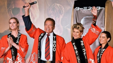Taiko drums played by Terminator! Tokyo Dark Fate cast premiere,
