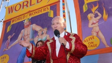 Ward Hall, Who Kept the Sideshow Going, Is Dead at 88