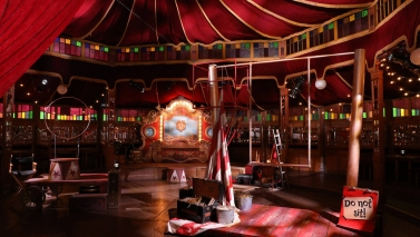 The Big Apple Circus is throwing a Britney Spears themed-party